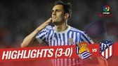 Sociedad - Atletico 3-0: Atletico đại bại giúp Barca vô địch ở trận tới
