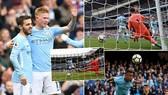 Man City - Swansea 5-0: Silva, Sterling, Bruyne, Silva và Jesus thị uy nhà vô địch