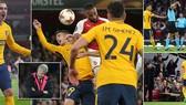 Arsenal - Atletico Madrid 1-1 Pháo thủ bị cầm hòa dù chơi hơn người từ phút thứ 10
