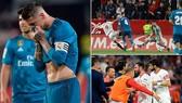 Sevilla - Real Madrid 3-2: Tội đồ Ramos, Kền Kền bất ngờ thất thủ