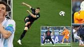 Bảng D, Argentina - Croatia 0-3: Messi lại tịt ngòi, Rebic, Modric, Rakitic hạ gục Argetina