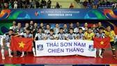 Mes Sungun - Thái Sơn Nam 4-2: Thua tiếc nuối, Thái Sơn Nam đành nhận ngôi Á quân châu Á