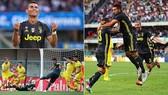 """Chievo - Juventus 2-3: Ronaldo """"tịt ngòi"""", Juve thắng nhọc"""