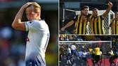 Watford - Tottenham 2-1: Deeney, Cathcart giúp Watford ngược dòng vào tốp 3
