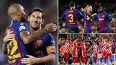 Barcelona - Girona 2-2: Messi, Piqgue ghi bàn, Barca thắng nhọc nhờ công nghệ VAR