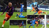 Hoffenheim -Man City 1-2: Aguero và David Silva giúp Man xanh ngược dòng đẹp mắt