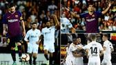 Valencia - Barcelona 1-1: Garay ghi bàn, Messi kịp gỡ hòa, Barca mất ngôi đầu