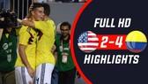 Mỹ - Colombia 2-4: James Rodriguez lập siêu phẩm khó ngờ