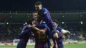 "Leonesa - Barcelona 0-1: Vắng Messi, Suarez - Coutinho ""tịt ngòi"", Lenglet tỏa sáng"