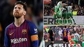 Barcelona - Real Betis 3-4: Messi lập cú đúp, Vidal ghi bàn nhưng Barca thất thủ
