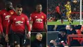 Man United - Crystal Palace 0-0: Lukaku, Martial tịt ngòi, Mourinho hòa như bại