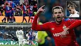 Real Madrid - CSKA Moscow 0-3: Chalov, Schennikov, Sigurdsson tặng quà chia tay Bernabeu