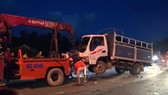 Tai nạn liên hoàn trên Quốc lộ 1 qua địa phận Quảng Nam