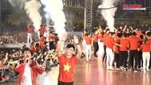 TPHCM: Biển người chào đón đội tuyển U23 Việt Nam