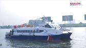 Tàu cao tốc du lịch TPHCM - Cần Giờ - Vũng Tàu chính thức hoạt động