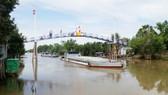 Khánh thành cây cầu mới ở vùng hạn mặn Kiên Giang