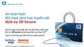 Giao dịch online ACB bảo mật và an toàn
