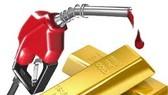 Giá dầu thế giới giảm, vàng tiếp tục tăng