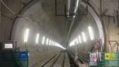 Đường hầm hiện đã khoan được gần 400m