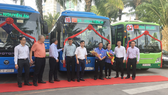 TPHCM chính thức hoạt động 3 tuyến xe buýt điểm đầu tiên
