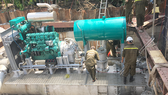Thuê máy bơm chống ngập đường Nguyễn Hữu Cảnh gần 10 tỷ đồng/năm