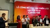 Samsung, Vietnamobile, FPT Shop ký kết thực hiện chương trình trợ giá di động