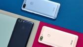 ZenFone Max Plus với màu Đen Biển Sâu, Xanh Sóng Biển, Vàng Nắng Sớm