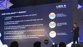 Đại diện Liên Á giới thiệu công nghệ CoolAdapt
