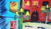 Bé 10 tuổi triển lãm tranh cá nhân tại Bảo tàng Mỹ thuật Việt Nam