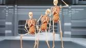 Triển lãm cơ thể con người đang gây tranh cãi. Ảnh: KHÁNH PHẠM
