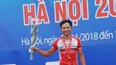 Lê Nguyệt Minh là chủ nhân chiếc HCV tốc độ 500 mét.