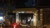 Cháy tiệm tóc tại Q12, 2 người tử vong