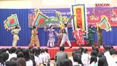 Nghệ thuật tuồng cổ vào học đường: Cuốn hút- mới lạ