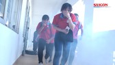 Hoa Phượng Đỏ 2018: Diễn tập kỹ năng thoát hiểm cho học sinh