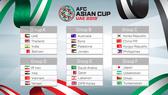 VCK Asian Cup 2019: Việt Nam cùng bảng với các đội mạnh của Tây Á