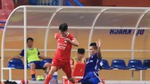 Viettel đến gần với V-League sang năm sau chiến thắng trước Bình Định. Ảnh: MINH HOÀNG