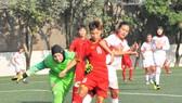 Đội U16 nữ Việt Nam thắng Bahrain 14-0