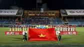 Trận bán kết giữa Becamex Bình Dương và Hà Nội sẽ lùi sang ngày 11-10. Ảnh: MINH HOÀNG