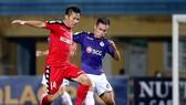 Nếu vượt qua Hà Nội, Tấn Tài cùng các đồng đội sẽ đá chung kết trên sân Hòa Xuân. Ảnh: MINH HOÀNG