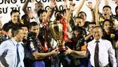 Đội Becamex Bình Dương lần thứ 3 đoạt Cúp Quốc gia. Ảnh: KIM BẢO