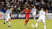 Văn Đức có trận đấu bùng nổ trước Philippines. Ảnh: MINH HOÀNG
