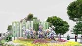 Designs of 2018 Nguyen Hue Flower Street