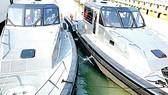 Two of  six coastal patrol boats
