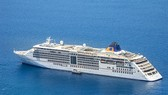 The five-star cruise ship MS Europa 2