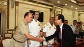 HCM City leader receives foreign military attache delegation in Vietnam