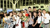 Miss Global 2017 Barbara Vitorelli arrives in Hanoi
