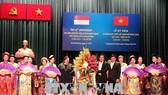At the ceremony (Photo: VNA)