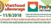 550 enterprises participate in Vietfood & Beverage – ProPack 2018