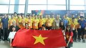 ASIAD 2018: Vietnamese football team arrives in Indonesia