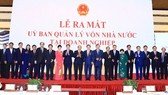 Prime Minister Nguyen Xuan Phuc witnesses the launch of the Committee for Management of State Capital (CMSC) in Hanoi on September 30. (Photo: VNA)